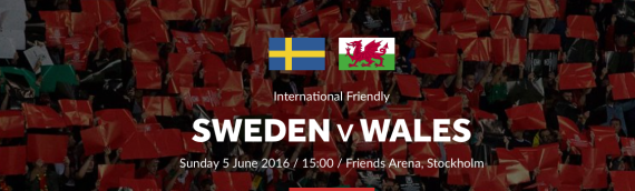 Welsh football team and TEACHERS head to Sweden this June.