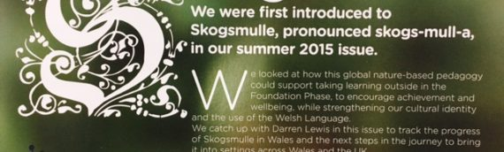 Skogsmulle in Wales – Wales PPA Article