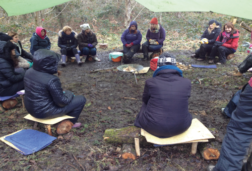 Forest school training wales