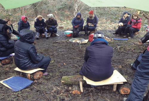 Forest school training wales